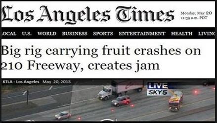 Funny headline